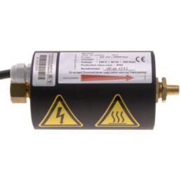 High Capacity Gas Line Heater