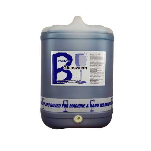 bracton glasswash detergent beer wine