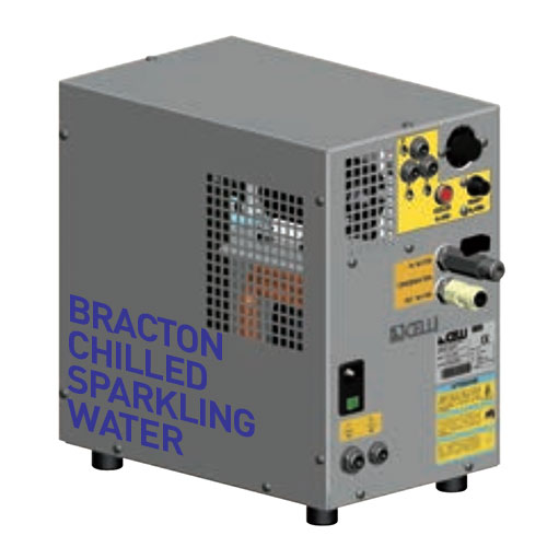 chilled sparkling water machine