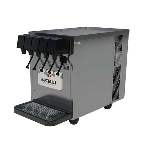 celli bench top soft drink dispenser