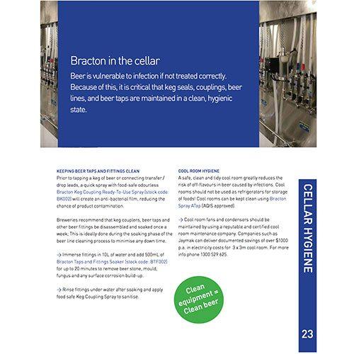 bracton cellar hygiene brochure