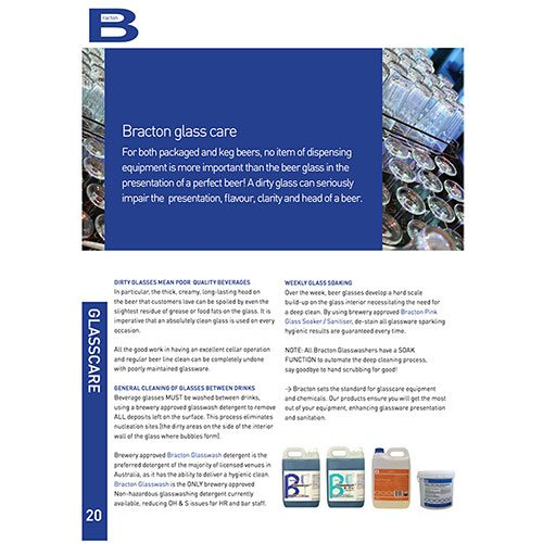 bracton glasscare brochure