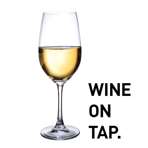wine on tap dispense