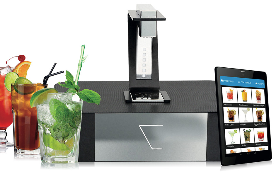 automatic cocktail machine